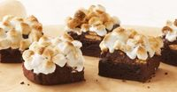 Duncan Hines Recipe - S'mores Brownies #DuncanHines