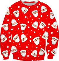 Whirling Santa Sweatshirt $59.95