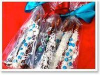 Hoping to make some food gifts this year...chocolate covered pretzels are a favorite of mine.