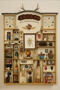 I love me a cabinet of curiosities mainsail: Wunderkammer (via Jere Smith: Wunderkammer)