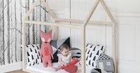 Add some fun kiddish style to your child's room with a house bed! We've rounded up our favorite looks for house-shaped beds, reading nooks, headboards, bunk bed