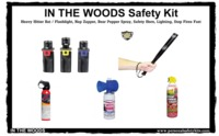 """In The Woods"" Camping Safety Kit $124.95"