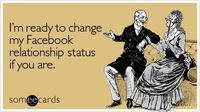 "Ok, let's be honest. Facebook has pretty much completely changed the way we conduct our love lives. Remember the days before it existed �€"" when you had to pass n"