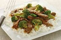 Easy Beef and Broccoli recipe: 1/4 cup hoisin sauce 1/4 cup KRAFT Classic CATALINA Dressing 1 Tbsp. grated gingerroot
