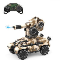 Xiangdijia Toys 008D 2.4G 4WD Electric RC Battle Tank Drift Vehicles Stunt Car RTR Model