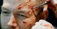 Awesome special effects makeup by Kryolan MU artist.