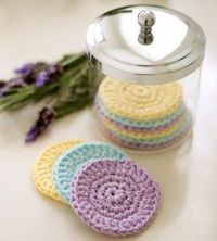 If you're looking for ways to be a little kinder to the environment, then check out these Reusable Crochet Scrubbies. Instead of using face wash wipes, use some