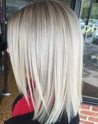 #8: Textured Cut for Thick Hair The best way to show off the texture in medium length hairstyles for thick hair is to add some highlights. Varying shades will g