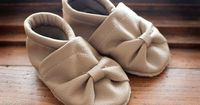 Tiny Toes Soft Sole Shoes | Peek-a-Boo Pattern Shop