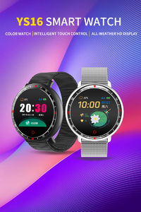 Bakeey YS16s Milanese Steel IPS Touch Screen Blood Pressure O2 5ATM WhatsApp Reminder Weather Smart Watch