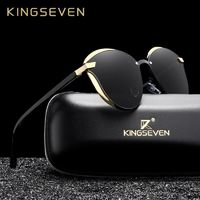 KINGSEVEN Cat Eye Sunglasses Women Polarized Fashion Ladies Sun Glasses Female Vintage Shades Oculos de sol Feminino UV400 $31.68