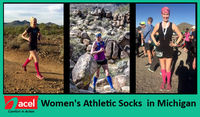 Athletes! Get a trendy and fashionable look without compromising with the comfort at ACEL! Buy stylish, high-quality, ultra-durable, and affordable compression Women's Athletic Socks In Michigan at www.acelcomfort.com and avail exclusive discounts a...