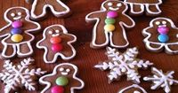 This is my very favorite gingerbread cookie recipe. The dough is so firm and nice to work with and is so wonderful smelling that it is almost like a stress reliever. These disappear in lightning speed in my house! This recipe is adapted from a recipe in t...