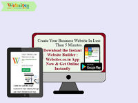 """""""Create Your Website, Blog & eCommerce Store Instantly through our Instant Website Builder App. Build, create, update and manage your website through your smartphone, laptop. For more details visit: https://rb.gy/ofm8jf"""""""