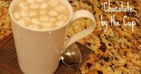 Don't settle for a mix! Here's how to make homemade hot chocolate in just a couple of minutes! Easy and so delicious!