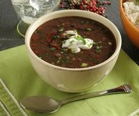 Thispostwas discovered by Kristen Barr. Discover (and save!) your own Pins on Pinterest. | See more about black bean soup, red onions and minced garlic.