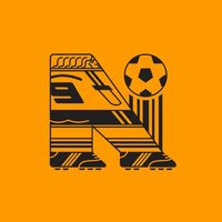 Association Ball Cup - A football alphabet by Gustavo Berocan Veiga, via Behance