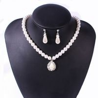 Fashion Women Multi-Style Pearl Necklace Set Europe style Bracelet Girl Jewelry