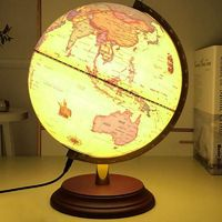 25cm light lamp Globe World Earth Map $95.00