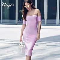 Sexy Vintage Split Attractive Slimming Off-the-Shoulder It Girl Summer Breast Wrap Dress - Bonny YZOZO Boutique Store