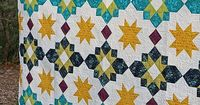 Freshly Pieced Modern Quilts: Another New Pattern: Moroccan Lanterns