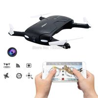 Pocket Selfie Drone JJRC H37 Elife Fold Portable Photography Wifi FPV With 0.3MP Camera Phone Control RC Drones RTF Helicopter $50.59