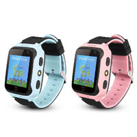 1.44in GPS Location HD Camera Kids Smart Watch Phone Touch Screen IPX4 Waterproof Flashlight SOS Call Children Smart Wristband for Android IOS