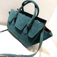 Fashion Substantial Smiling Face Casual Solid Color Tote Shoulder Bag