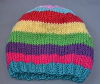 Stash-Busting Striped Hat Free Pattern