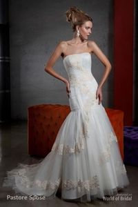The Pastore is a leader on the Italian and International industry with its collections of bridal and evening dresses for over 40 years. Its creative team and the research and development of style trends are characterized by a long experience of haute cout...