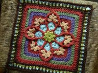 square patterns, crochet patterns and crochet squares.