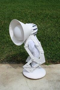 Epic Pixar Lamp Costume... 2014 Halloween Costume Contest