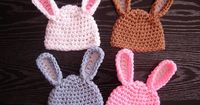 My eye has been drawn to crochet bunny patterns over and over lately- probably because it is starting to show signs of spring! With Easter coming up, I had to p