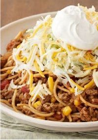 Taco Pasta Bake -- FACT: Kids love pasta. FACT: Kids love tacos. Put them together in one recipe and what do you get? A surefire hit. Bonus: It's ready for the dinner table in just 20 minutes time.