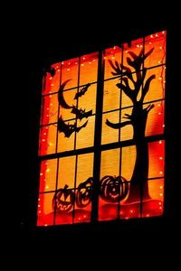 How To Decorate Windows For Halloween