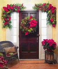 outside christmas decorating ideas | Christmas Ideas: Christmas Wreath Decoration Ideas, Outdoor Christmas ...