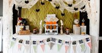 There are 2 things I love, the first being vintage style! And this vintage Halloween themed dessert table and party is so sweet and friendly for young ages. You have to check out the whole blog because all of the photos are precious and inspiring!