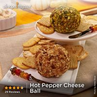"Hot Pepper Cheese Ball | ""This recipe became a favorite of mine about 2 years ago. I make it for every party I have and every party I go to. Serve with your favorite crackers."" �€"" Michelle"