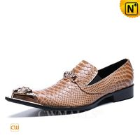 Custom Made Men Embossed Leather Dress Shoes CW719032 | CWMALLS.COM