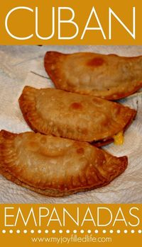 I had never tried empanadas until I was married to my husband. Actually I had never even heard of empanadas until I married my husband. Empanadas are stuffed pa