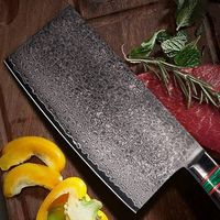 Chef Knife Cleaver Kitchen Knife Home Cooking Vegetables Meat Slicing Tool $171.00