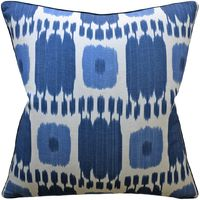 Kandira Blues Decorative Pillow $305.00