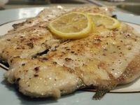 Simple Pan Seared Rainbow Trout