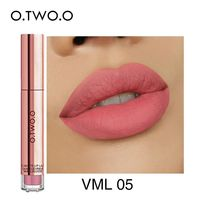 O.TWO.O Matte Lipstick Liquid Waterproof Long Lasting Velvet Lip Gloss Makeup Smooth Pigment Lip Tint Red Lips Cosmetics $0.05