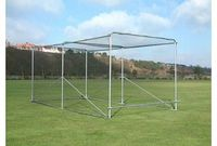 Harrod Premier Portable Aluminium Cricket Cage The aluminium structure is designed to be lighter in weight, easily portable and is suitable for use in secure premises only. *Specification as per CRK-150 but with aluminium uprights and toprods *50m http://...