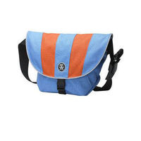 crumpler Upgrade Blue/Orange The Crumpler Upgrade Blue/Orange bag is made from the hyper performance accessory fabric and waterproof ripstop lining of the 1000d Chicken Tex Supreme bag. Crumplers website tells you that this bag w http://www.comparestorepr...
