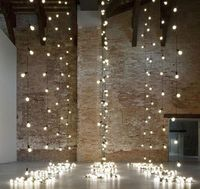 String lights are not just for Christmas decorating. They create perfect mood lighting for outdoor summer parties. They can also work well in everyday interiors