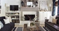 """I love anything and everything with reclaimed wood. Reclaimed wood beams, fireplaces, shelves, frames, tables, you name it �€"""" I love it. So when I heard about St"""
