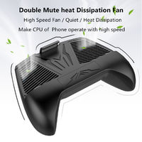 Bakeey Dual Quiet Fan Mobile Phone Gamepad Phone Holder For Oneplus 6 Xiaomi Mi8 Pocophone F1 S9