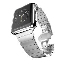 Luxury Stainless steel strap for Apple iwatch series 5/4/3/2/1 44mm 42mm 40mm 38mm $52.99